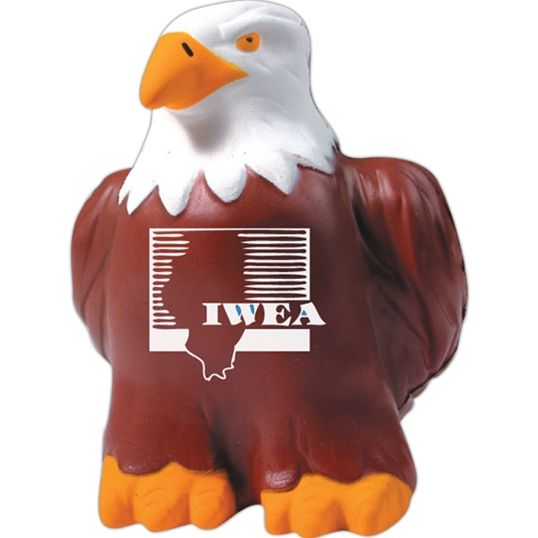 Personalized Squeezies (R) eagle stress reliever