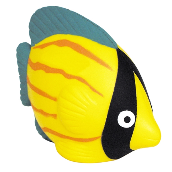 Customized Squeezies (R) tropical fish stress reliever