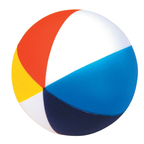 Promotional Squeezies (R) beach ball stress reliever
