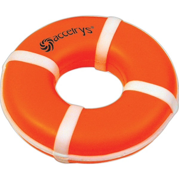 Promotional Squeezies (R) life ring stress reliever