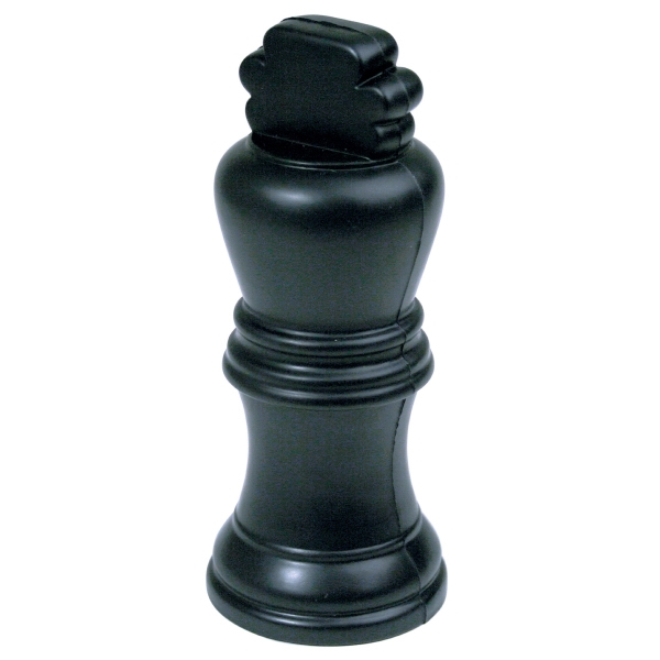 Personalized Squeezies (R) King Chess Piece Stress Reliever
