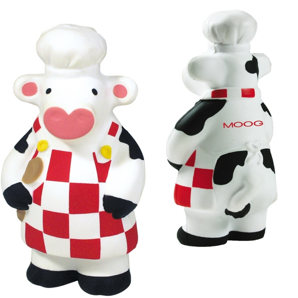 Customized Squeezies (R) what's cooking cow stress reliever