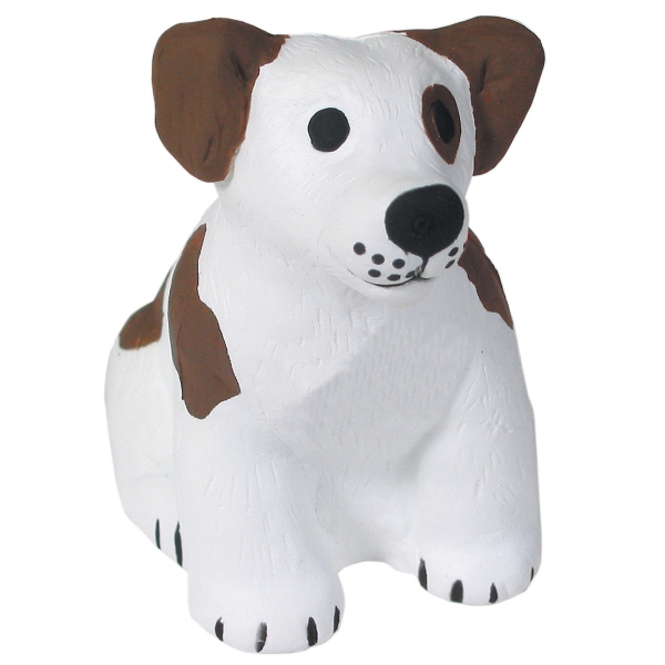 Imprinted Squeezies (R) dog stress reliever