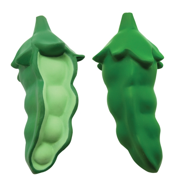 Personalized Squeezies (R) peas stress reliever