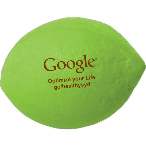 Personalized Squeezies (R) lime stress reliever
