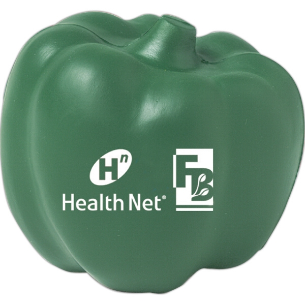 Customized Squeezies (R) bell pepper stress reliever