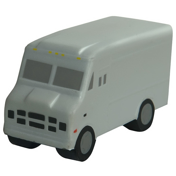 Customized Squeezies (R) step van stress reliever