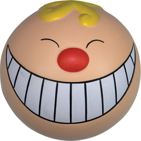 Customized Squeezies (R) Funny Face Smile Stress Reliever