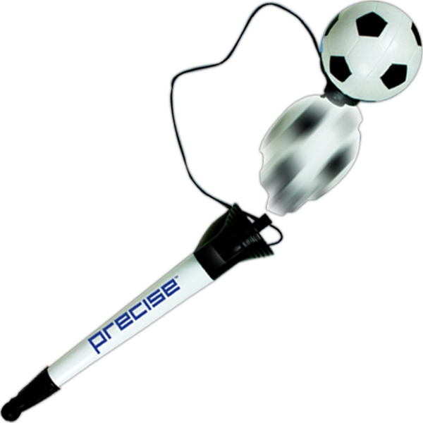 Personalized Soccer Pop Top Pen