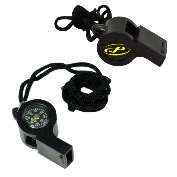 Promotional Whistle compass