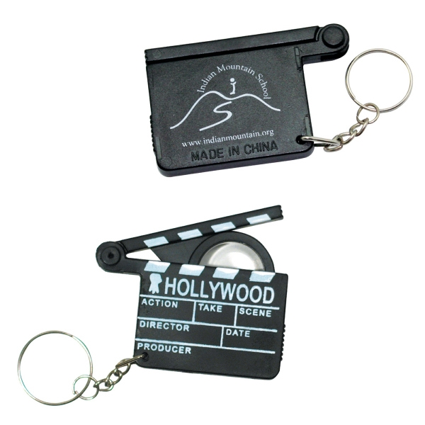 Personalized Hollywood keyring with magnifier