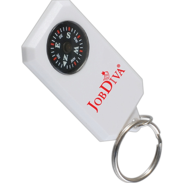 Customized Compass Keyring