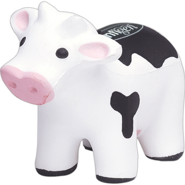 Printed Squeezies (R) cow stress reliever