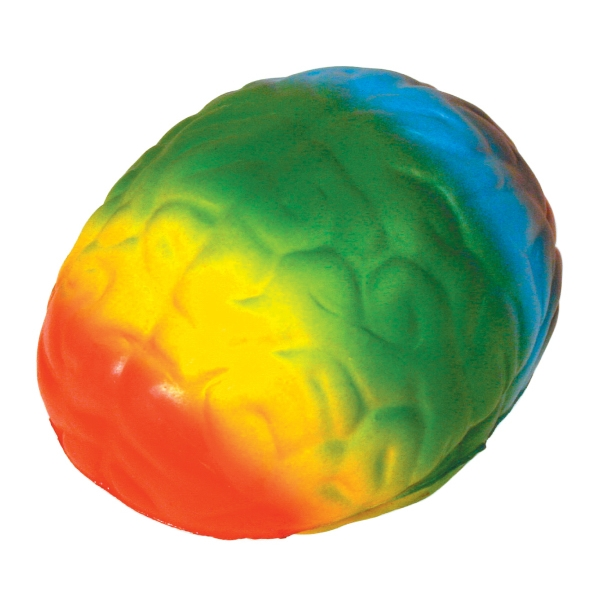 Personalized Squeezies (R) rainbow brain stress reliever