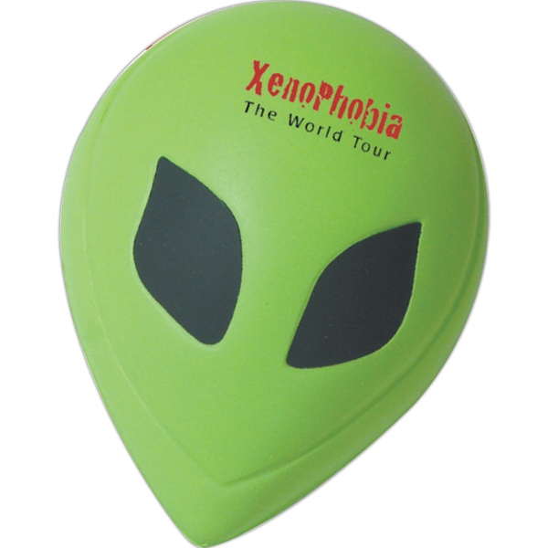 Imprinted Squeezies (R) Alien stress reliever
