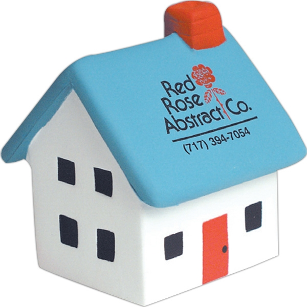 Imprinted Squeezies (R) house stress reliever