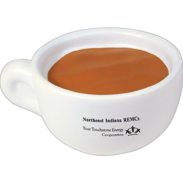 Promotional Squeezies (R) coffee cup stress reliever
