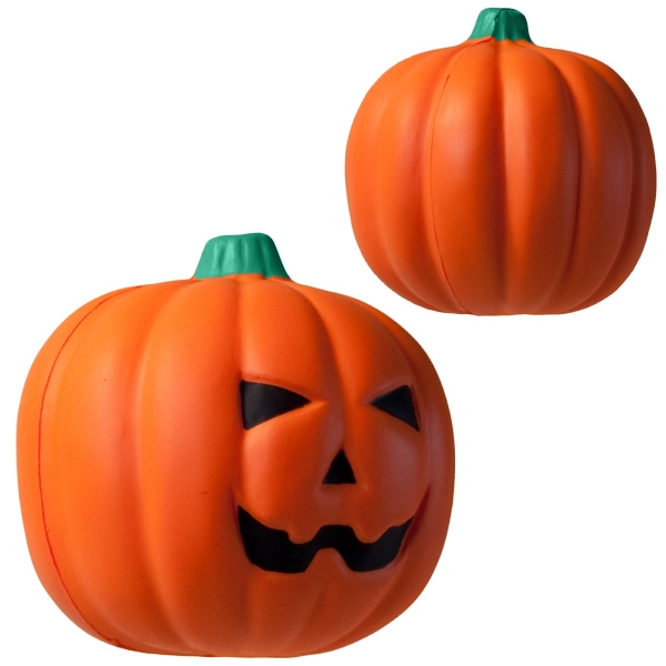 Custom Squeezies (R) Jack O'Lantern stress reliever