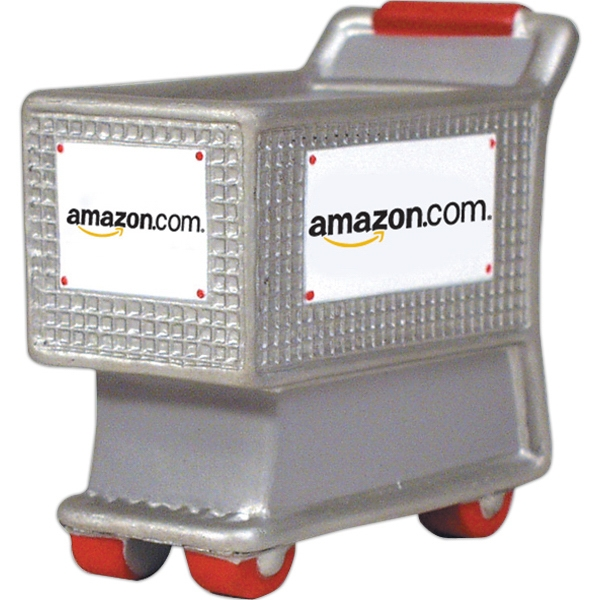 Promotional Squeezies (R) shopping cart stress reliever