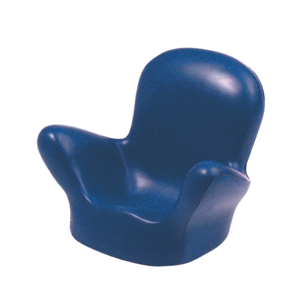 Customized Blue Cell Phone Chair Squeezies (R) Stress Reliever