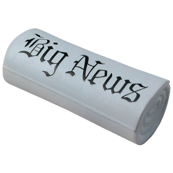 Promotional Squeezies (R) newspaper stress reliever