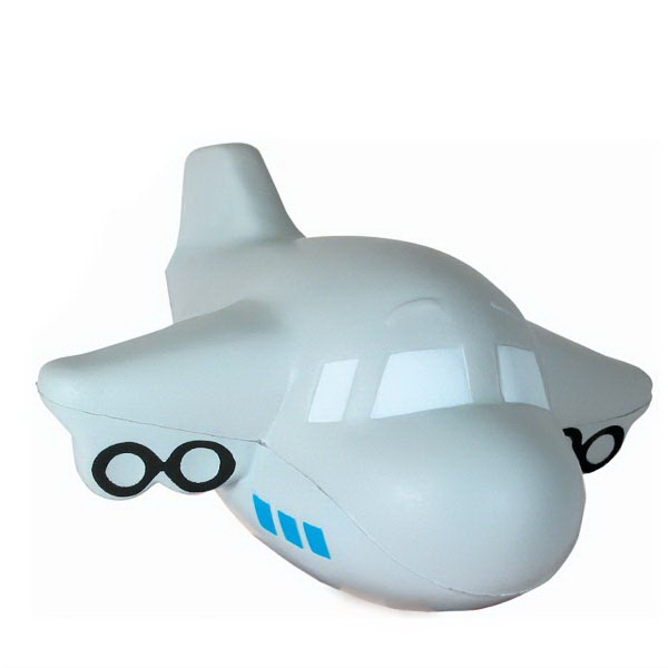 Personalized Squeezies (R) airplane (with sound) stress reliever