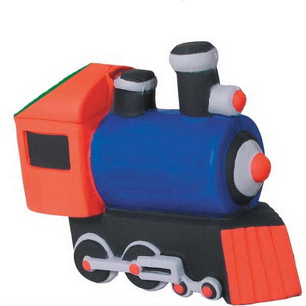 Personalized Squeezies (R) train (with sound) stress reliever