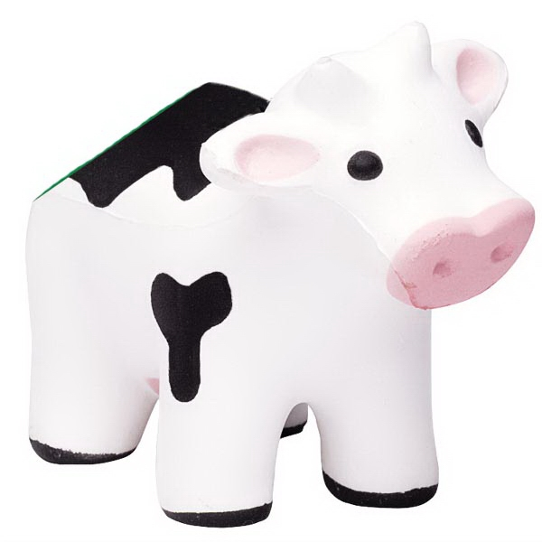 Promotional Squeezies (R) cow (with sound) stress reliever