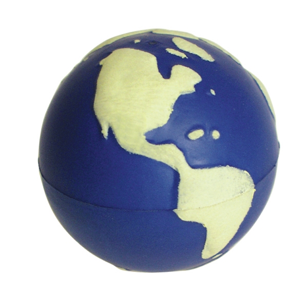 Customized Squeezies (R) Glow Earth stress reliever