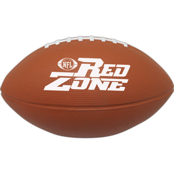 "Customized Squeezies (R) 5"" football stress reliever"