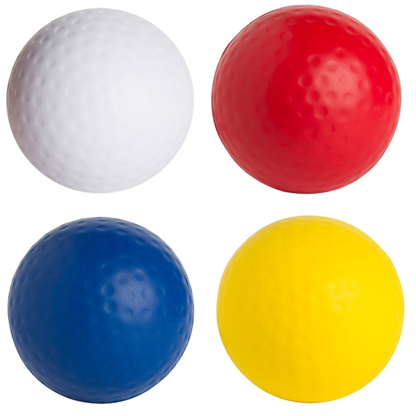 Promotional Squeezies (R) golf ball stress reliever