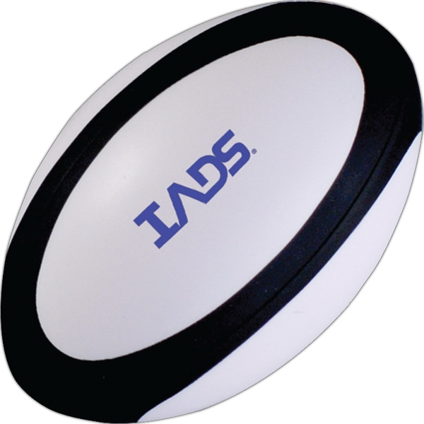 Customized Squeezies (R) rugby ball stress reliever