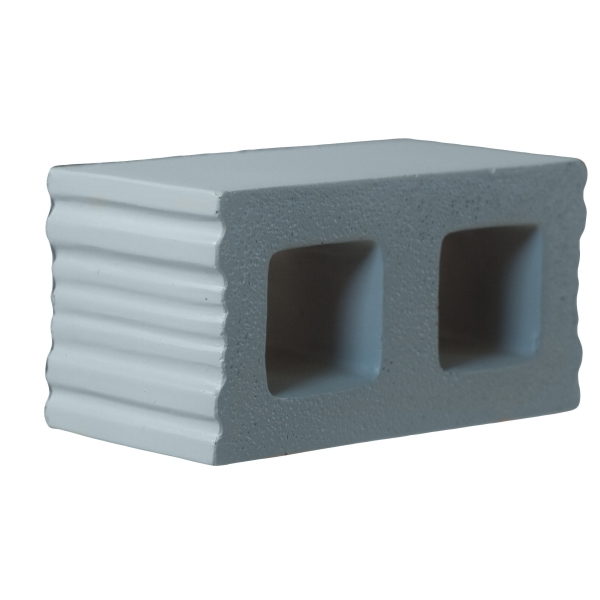 Promotional Squeezies (R) concrete block stress reliever