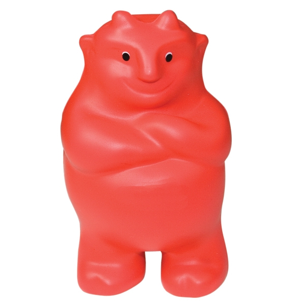 Promotional Squeezies (R) devil stress reliever
