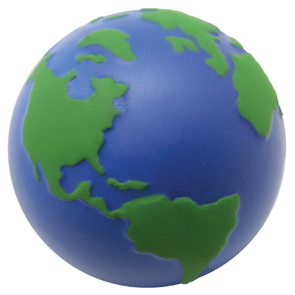 Personalized Squeezies (R) Earth stress reliever