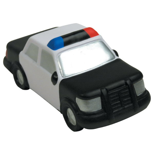 Personalized Squeezies (R) police car stress reliever