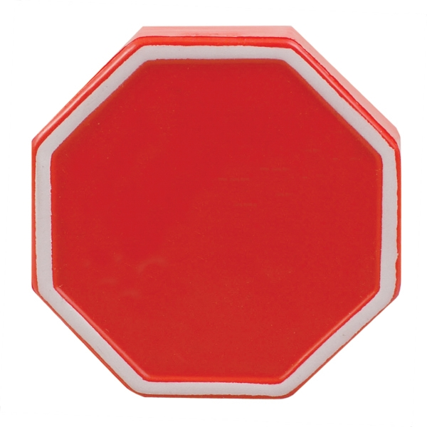 Promotional Squeezies (R) stop sign stress reliever