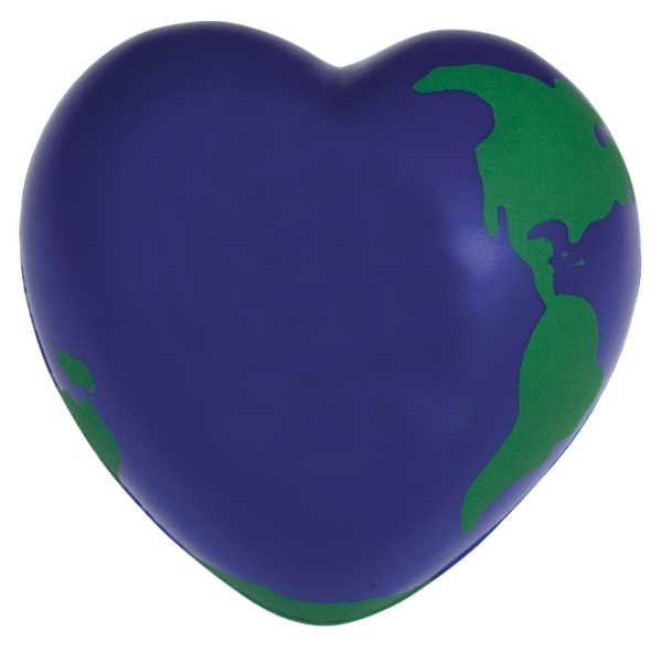 Imprinted Squeezies (R) World Heart stress reliever