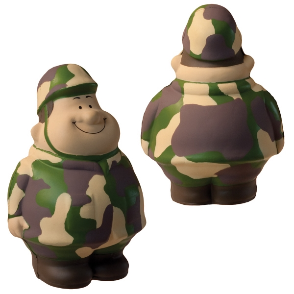 Custom Squeezies (R) Army Bert (TM) stress reliever