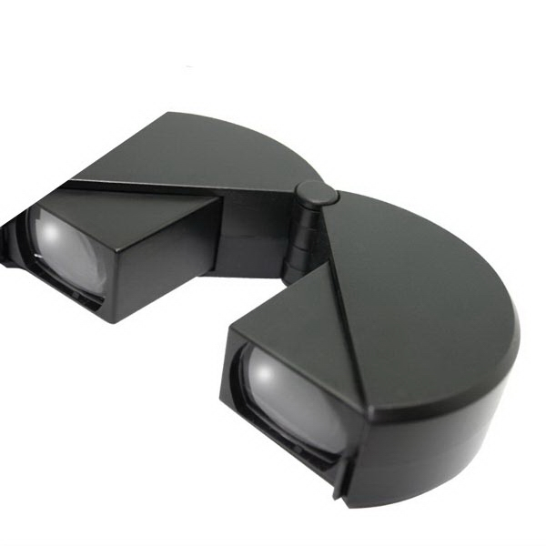 Printed Folding hockey puck binoculars