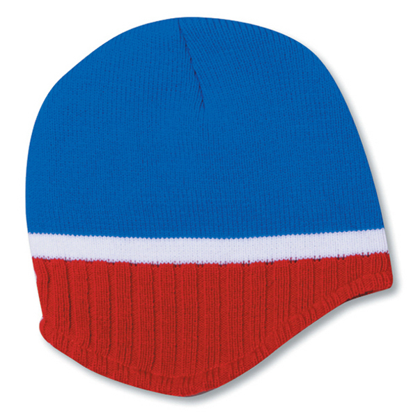 Custom Beanie with Trim and Fleece Lining