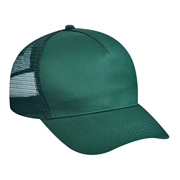 Customized Five Panel Low Profile Pro Style Mesh Back Cap