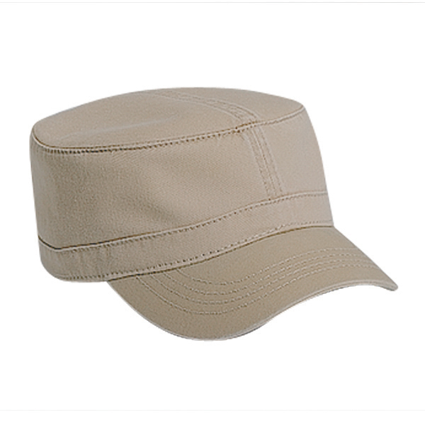 Printed Military Style Cap