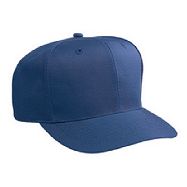 Custom Six Panel Low Crown Pro Style Cap