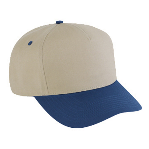 Imprinted Five Panel Pro Style Cap