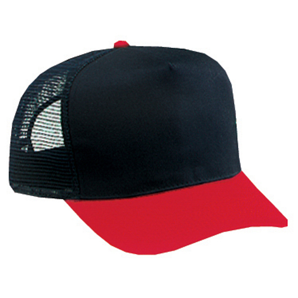 Custom Five Panel Pro Style Mesh Back Cap
