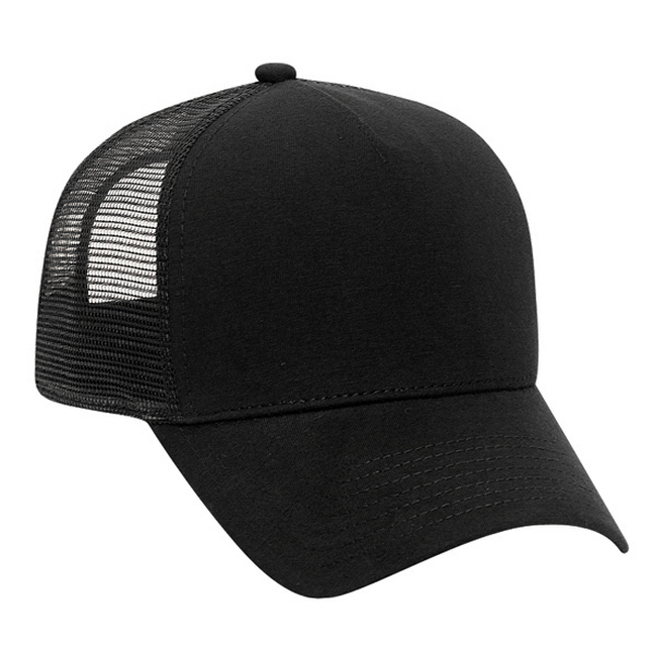 Printed Five Panel Pro Style Mesh Back Cap