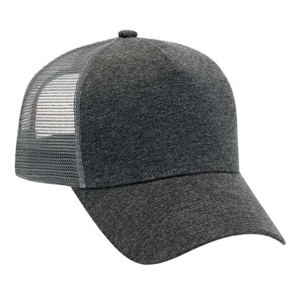 Imprinted Five Panel Pro Style Mesh Back Cap
