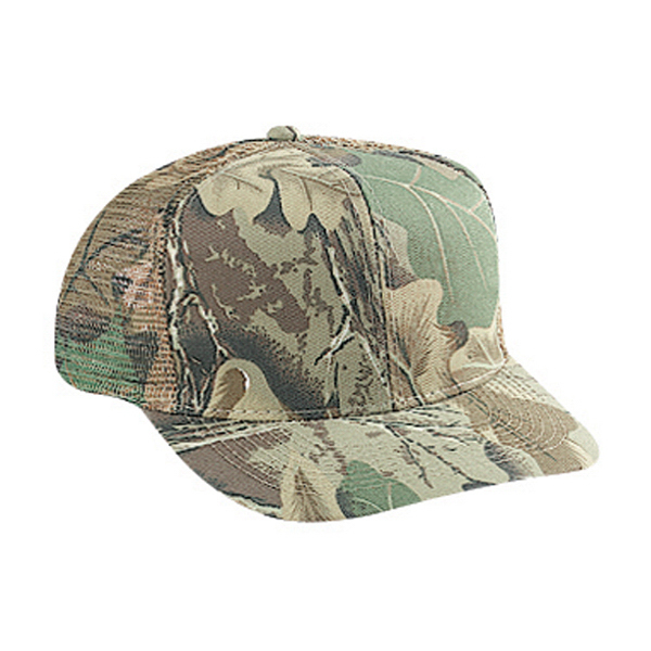 Promotional Six Panel Pro Style Mesh Back Cap