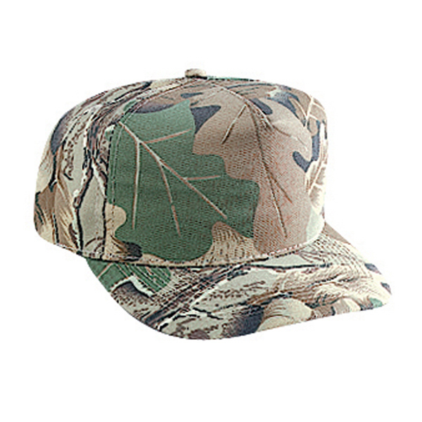 Imprinted Five Panel Low Crown Golf Style Cap